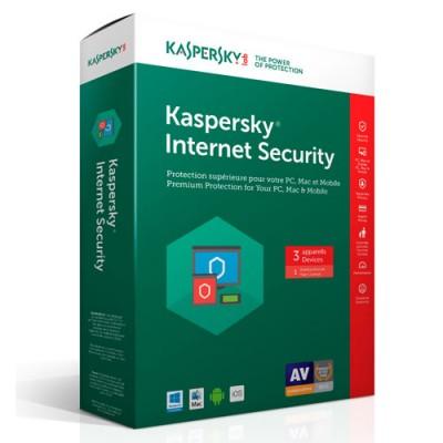 Kaspersky Internet Security (KIS) (3 User)