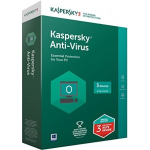 Kaspersky Antivirus (KAV) - 3 User